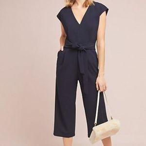 Anthropologie Navy Blue Sedona By Ett:twa S Romper